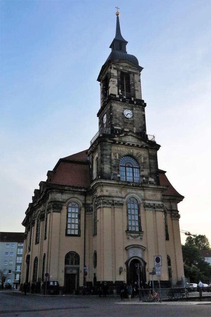 Vorprobe und Konzert in der Annenkirche